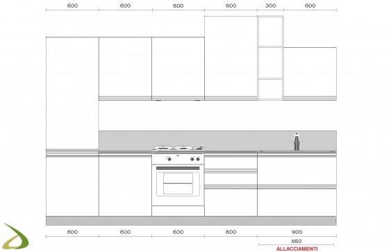 Cucine Componibili Pisa.Cucina Moderna Componibile Pisa Larredotrieste
