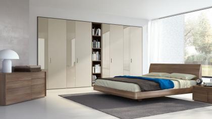 Camere da letto moderna Modello Pistoia - LarredoTrieste