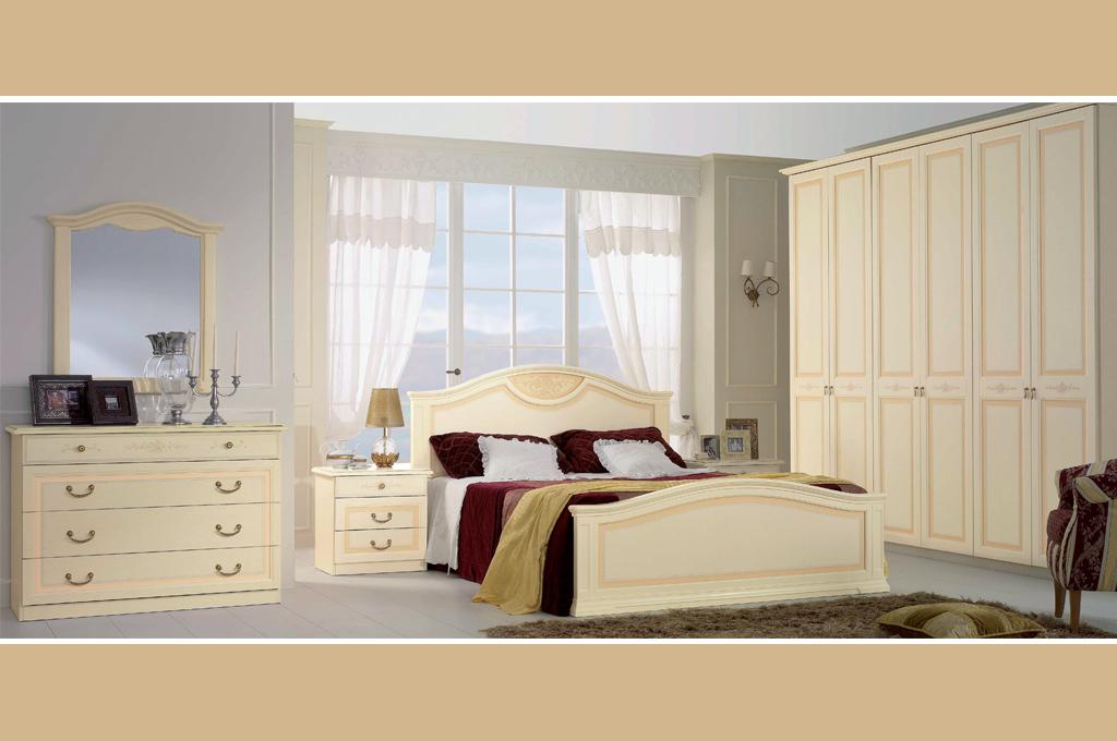 Camera da letto classica Modello Angelica - LarredoTrieste