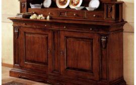 Credenza Con Piattaia Shabby : Credenza 2 porte piattaia in legno larredotrieste