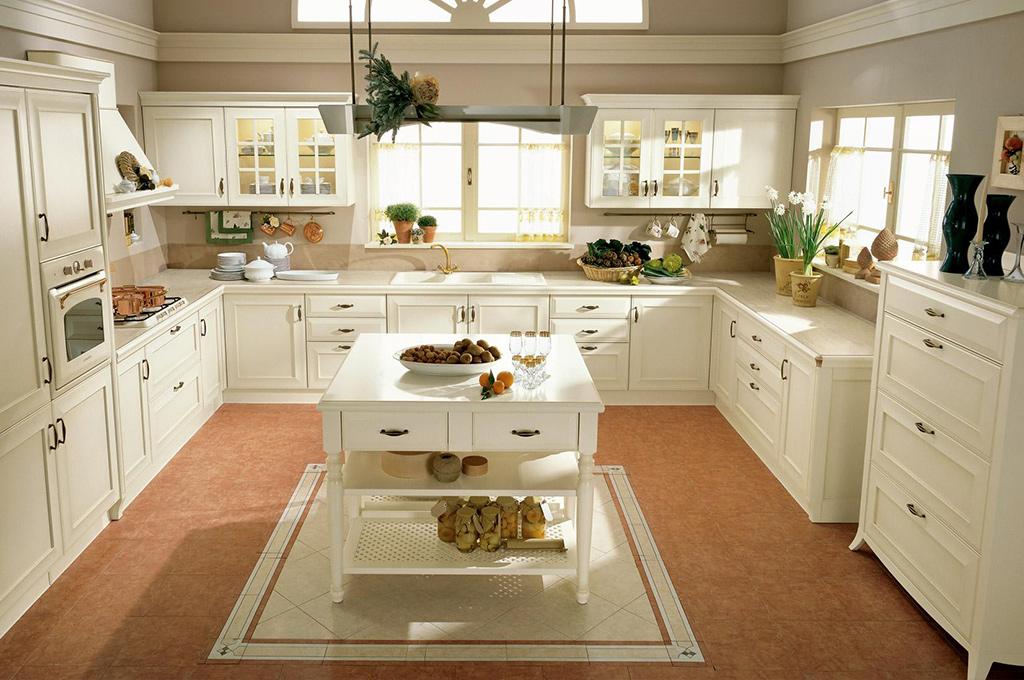 Cucina classica Modello Velia - LarredoTrieste